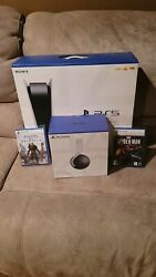 Sony Ps5 Blu-ray Edition Console Bundle - White