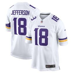 Minnesota Vikings Justin Jefferson Nike Official All Colors Player Game Jersey
