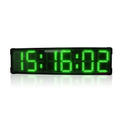 Large Digital Stopwatch Led Coutdown Count Up Timer Car Race Clock Big Watch