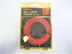 Cerrowire Marine Boat Trailer Multi-application 24ft 16 Awg Red Primary Wire New