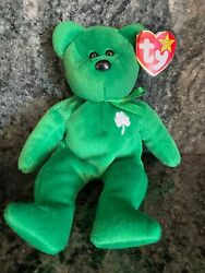 Ty Vintage Beanie Baby 2nd Edition Erin The Bear 1997 Rare/retired