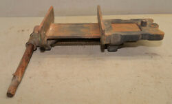 Antique Wood Carvers Bench Vise 8 Jaw Collectible Woodworking Holding Tool