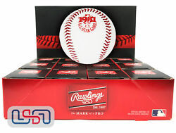 12 1981 All Star Game Official Mlb Rawlings Baseball Indians Boxed - Dozen