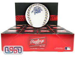 12 2002 All Star Game Official Mlb Rawlings Baseball Brewers Boxed - Dozen