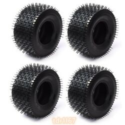 4pcs 13x6.50-6 Tire Tubeless 4 Ply For Turf Lawn Mower Garden Tractor 13x6.5-6