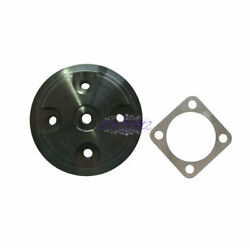 Black Cylinder Head Cover Modified Part For 80cc 2- Stroke Motorized Bike.