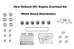 Engine Overhaul Kit Std Fits New Holland Tw35 Tractor With 401 Engine