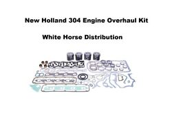 Engine Overhaul Kit Std Fits New Holland 7010 Tractor With 304 Engine