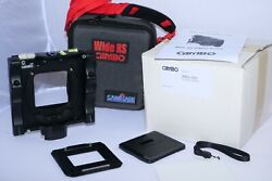 Cambo Wide Rs1000 Medium Format Digital Camera Body With Phase One Plate Case.