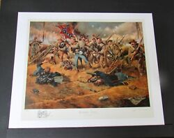 Don Troiani - Rebel Yell - Collectible Civil War Print - Remarqued - Mint
