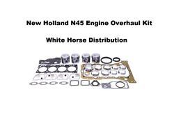 Engine Overhaul Kit Std Fits New Holland T6010 Tractor With N45 Engine