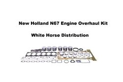 Engine Overhaul Kit Std Fits New Holland T6030 Tractor With N67 Engine