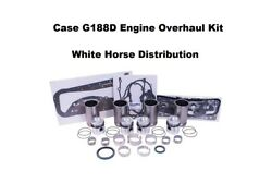 Engine Overhaul Kit Std Fits Case 430ck Wheel Tractor With G188d Engine