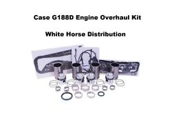 Engine Overhaul Kit Std Fits Case 430 Tractor With G188d Engine