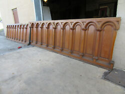 Antique Oak Paneling Wainscotting 27+ Feet 50 Tall Architectural Salvage