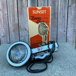Vintage Sunset Zoom Photography Light Collectible Retro Lighting