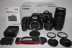 Guaranteed Canon Eos 6d Mark Ii Double Lens Set From Japan