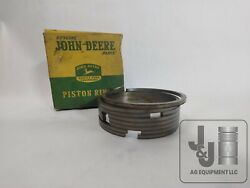 Nos John Deere Unstyled B .030 Piston Ring Set With Oil Rings Ab1055r Ab4751