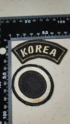 K2191 Korea Us Army Shoulder Patch And Tab Set 1 Corps L3a