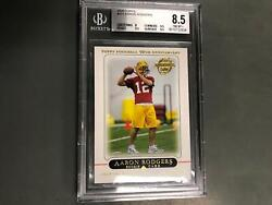 Aaron Rogers 2005 Topps Rookie Card Rc 431 Bgs 8.5 Nm-mt+ Green Bay Packers