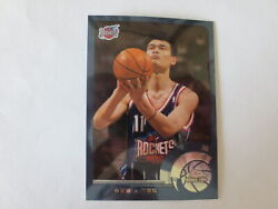 2002-03 Topps Chrome Rookie Yao Ming Chinese Version 146 Rockets Sharp And Clean