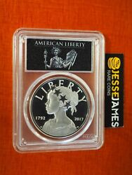 2017 P American Liberty Proof Silver Medal Pcgs Pr70 First Day Issue Fdi Philly