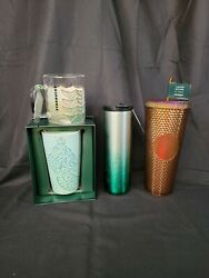 Bnwt Starbucks Htf 50th Anniversary Edition Collection 7 Cups