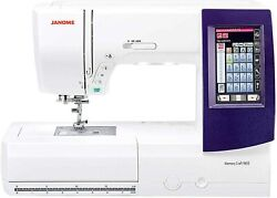 New Janome Memory Craft 9850 Sewing And Embroidery Machine Mc9850
