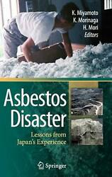 Asbestos Disaster Lessons From Japan's Experience English Hardcover Book Free