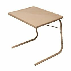 Table Mate Xl Tv Tray Extra Large Folding Table Adjustable To 6 Heights And 4
