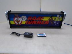 Road Runner Marquee Game/rec Room Led Display Light Box