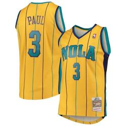 New Orleans Hornets Chris Paul 3 Mitchell And Ness 2010-11 Nba Hardwood Jersey