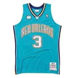 New Orleans Hornets Chris Paul 3 Mitchell And Ness Road 2005-06 Authentic Jersey