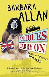Antiques Carry On By Barbara Allan English Hardcover Book Free Shipping