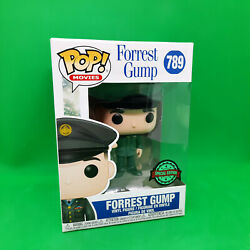 Funko Pop Forrest Gump 789 - Special Edition With Medal Of Honor In Uniform