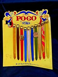 Vintage Po-go Syma Watch Straps Bands Counter Display C. 1950s/ 60s