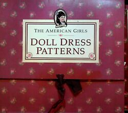 American Girls Doll Dress Patterns Samanthaand039s Pretty Clothes Unused