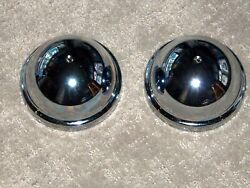 Two New 6 Volt Rear Horn Covers 1933-35 Ford From Sacramento Vintage Ford Parts
