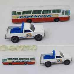 Majorette Neoplan Airport Bus Croisiere And Hot Wheels 1982 Beach Patrol Ford