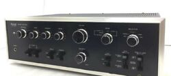 Sansui Used Integrated Amplifier Au-7500 1973 Black 70and039s Ac 100v From Japan