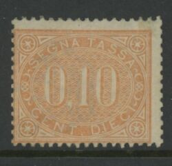 Italy Mint J2 Og Lh Clean And Sound