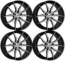 4 Dotz Misano Dark Wheels 8.5jx20 5x112 For Infiniti Q30 Qx30