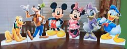 19h 6 Characters Mickey Mouse Clubhouse Standee Props Party Decorations