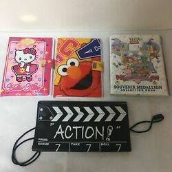Universal Studios Japan Disney Elongated Pressed Penny Coin Collection Album