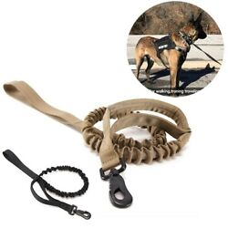 Dog Pet Animal Military Rope Slings Leash Chain Strap Training Hunting Tactical