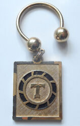 Flying Tiger Line Airfreight Specialist Keychain Logo Airlines Aviation 1960's