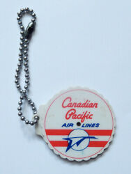 Canadian Pacific Airlines Keychain Calendar 1951-1978 Vintage