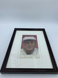 Casey Stengel And Frank Frisch Signed Original Pastel Painting By Jim Bliss E2