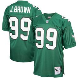 Philadelphia Eagles Jerome Brown Mitchell And Ness 1991 Authentic Player Jersey