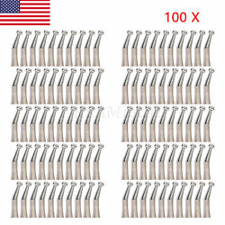 100 Usa Nsk Style Dental Contra Angle Handpiece Slow Low Speed Push Button Fx23